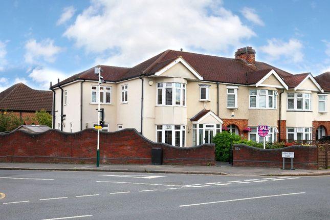Thumbnail End terrace house for sale in Wingletye Lane, Hornchurch