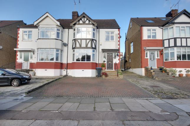 Thumbnail Semi-detached house for sale in Willow Walk, Winchmore Hill