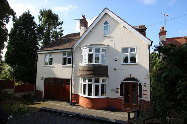 Thumbnail Detached house for sale in Bretby Lane, Bretby, Burton-On-Trent