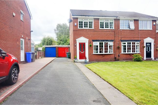 Thumbnail Semi-detached house for sale in St. Martins Close, Manchester