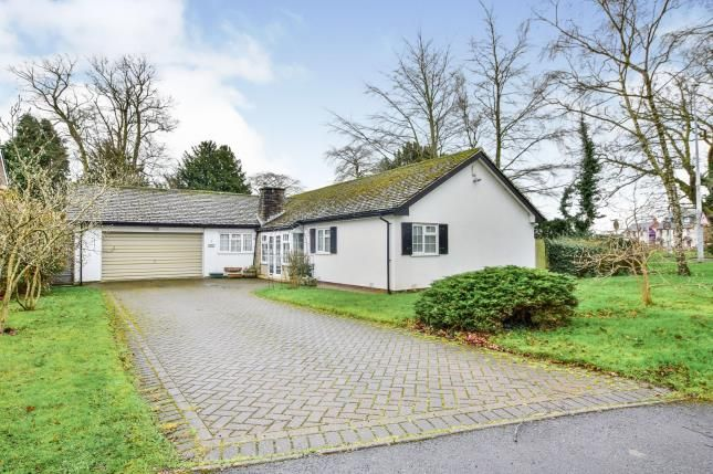 Thumbnail Bungalow for sale in Beaufort Chase, Wilmslow, Cheshire, .