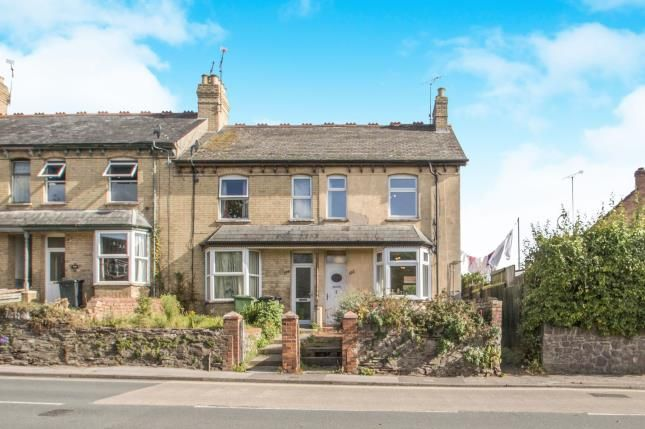 Thumbnail End terrace house for sale in Cheddon Road, Taunton