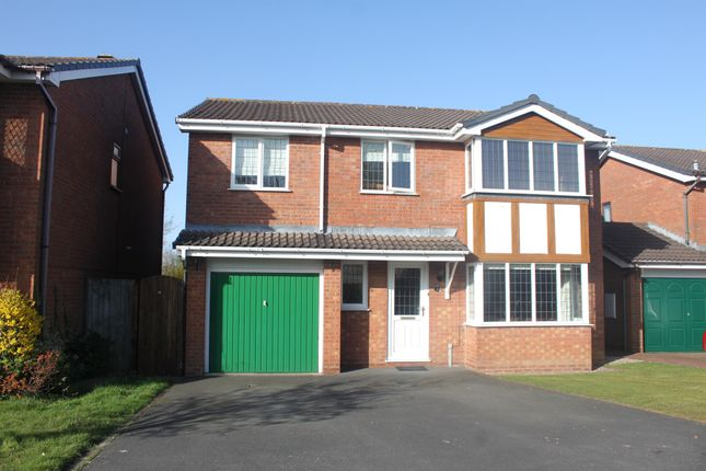 Thumbnail Detached house for sale in Oldberrow Close, Monkspath, Solihull