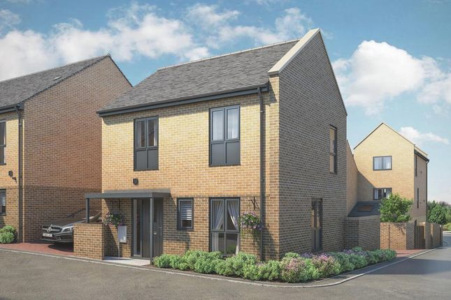Thumbnail Terraced house for sale in The Thurlow At Atelier, Keaton Way, Off Commonside Road, Harlow, Essex