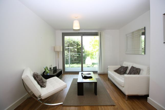 Thumbnail Flat to rent in Parkside Court, Waterside Park, London