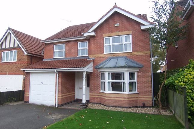 Thumbnail Detached house to rent in Ryedale Avenue, Mansfield