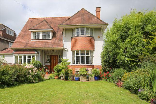 Thumbnail Detached house for sale in Elmlea Avenue, Stoke Bishop, Bristol
