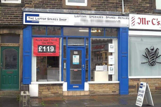 Thumbnail Retail premises for sale in North Valley Road, Colne