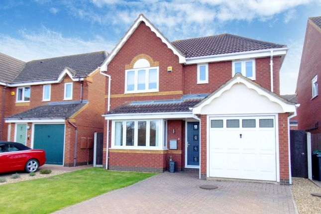 Thumbnail Detached house for sale in Sheepwalk Close, Potton