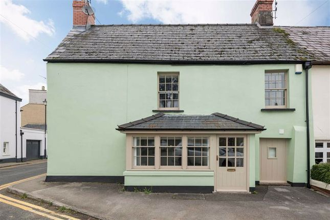 Thumbnail Terraced house for sale in New Market Street, Usk, Monmouthshire