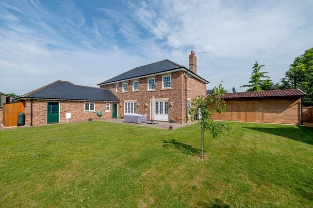 Thumbnail Detached house for sale in Oxborough Road, Boughton, King's Lynn