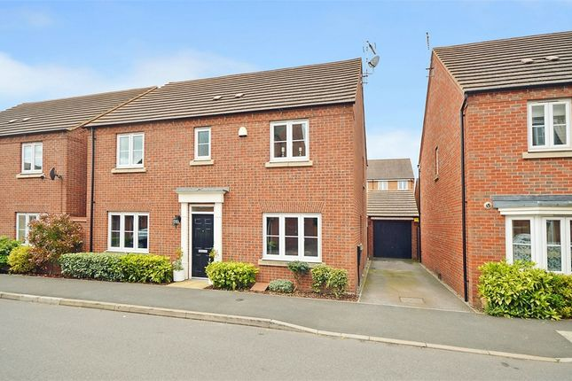 Thumbnail Detached house for sale in Oulton Road, Caldecott Manor, Rugby, Warwickshire