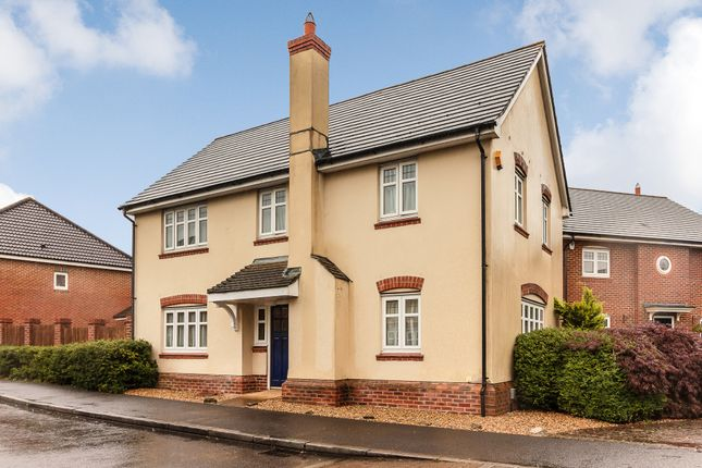 Thumbnail Detached house for sale in Chineham Close, Elvetham Heath, Fleet