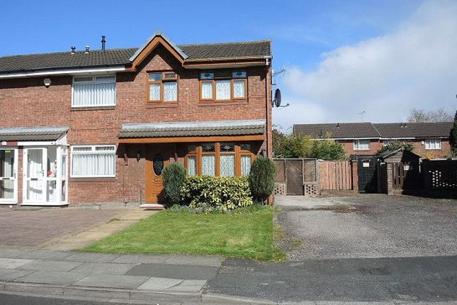 Thumbnail Semi-detached house for sale in Pinewood Avenue, Croxteth Park, Liverpool