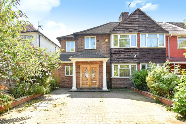 Thumbnail End terrace house for sale in Mandeville Road, Northolt, Middlesex