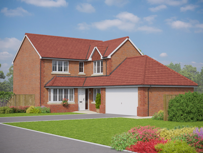 Thumbnail Detached house for sale in The Beaumaris, Middlewich Road, Sandbach, Cheshire