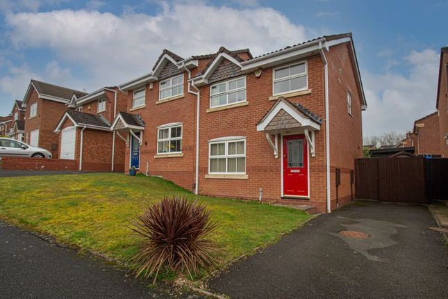 3 bed semi-detached house for sale in Moorcroft Gardens, Walkwood, Redditch B97