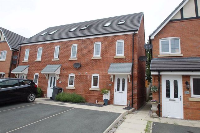 Thumbnail End terrace house for sale in Heritage Way, Llanymynech