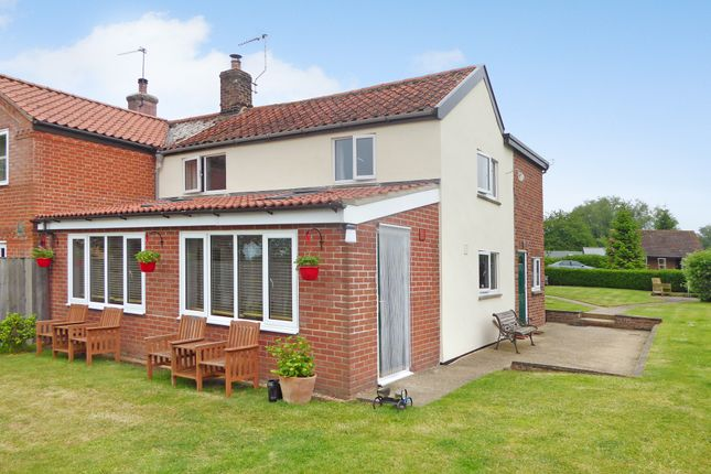 Thumbnail Semi-detached house for sale in Common Road, Aldeby, Beccles
