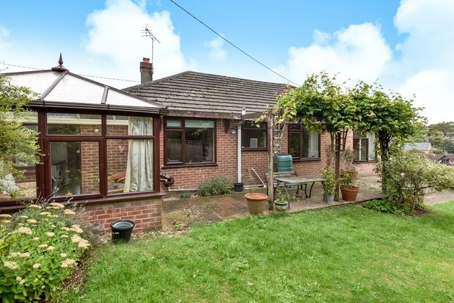 Thumbnail Detached bungalow for sale in Springvale Road, Headbourne Worthy, Winchester