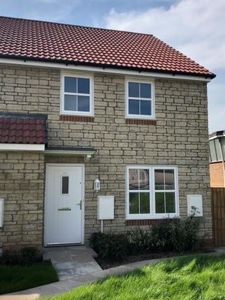 Thumbnail Semi-detached house for sale in Brandown Close, Temple Cloud, Bristol