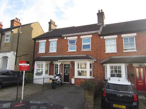 Thumbnail Terraced house for sale in Ongar Road, Brentwood
