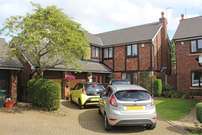 Thumbnail Detached house for sale in Croft Hey, Rufford, Ormskirk, Lancashire