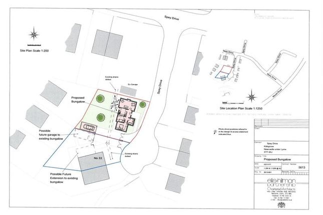 Thumbnail Land for sale in Spey Drive, Kidsgrove, Stoke On Trent