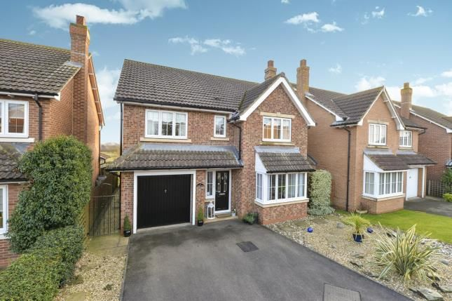 Thumbnail Detached house for sale in Oaktree Drive, Romanby, Northallerton, North Yorkshire