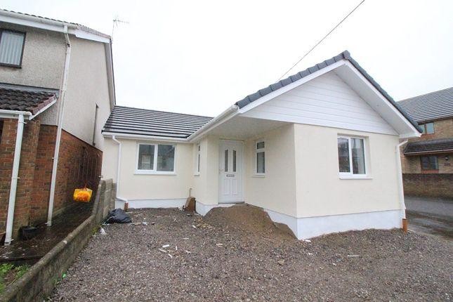 Thumbnail Detached bungalow for sale in Heol Fach, North Cornelly, Bridgend, Bridgend County.
