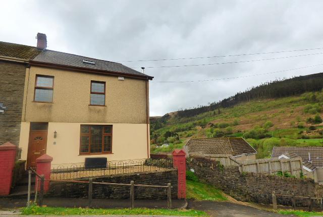 Thumbnail End terrace house for sale in Convil Road, Blaengarw, Bridgend
