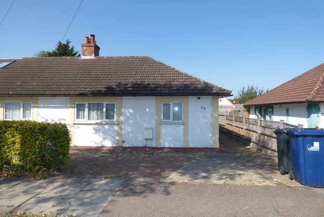Thumbnail Semi-detached bungalow to rent in Highfield Road, West Acton