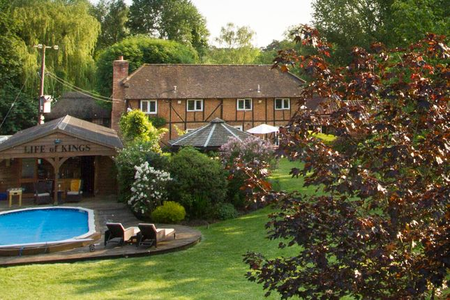Thumbnail Detached house for sale in Eversley, Hook, Hampshire