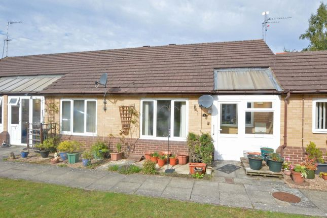 Thumbnail Terraced bungalow for sale in Willow Tree Gardens, School Street, Hillmorton, Rugby