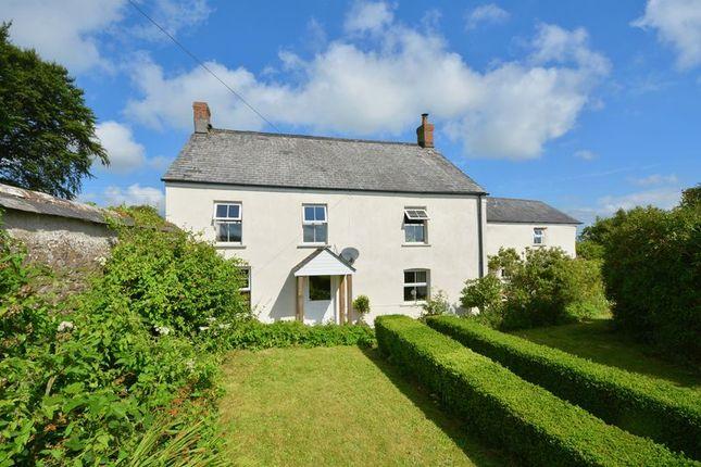 Thumbnail Detached house for sale in Milton Damerel, Devon