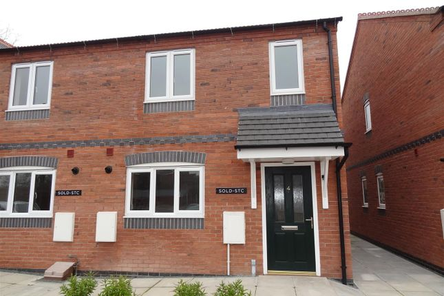 Thumbnail End terrace house to rent in Newtown, Baschurch, Shrewsbury