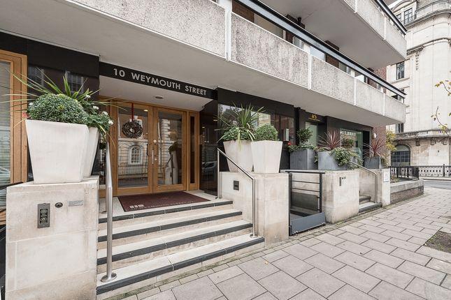 External (4) of Weymouth Street, London W1W