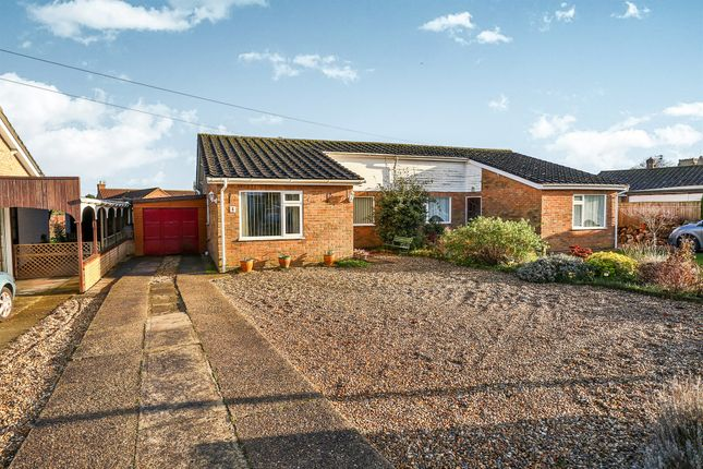 Thumbnail Semi-detached bungalow for sale in Primrose Road, Hingham, Norwich