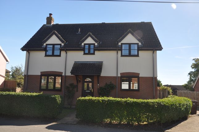Thumbnail Detached house for sale in All Saints Road, Creeting St Mary, Ipswich