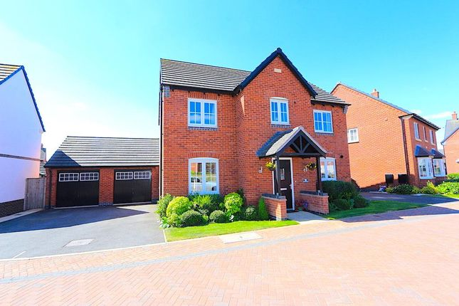 Thumbnail Detached house for sale in Gilson Crescent, Stoney Stanton, Leicester