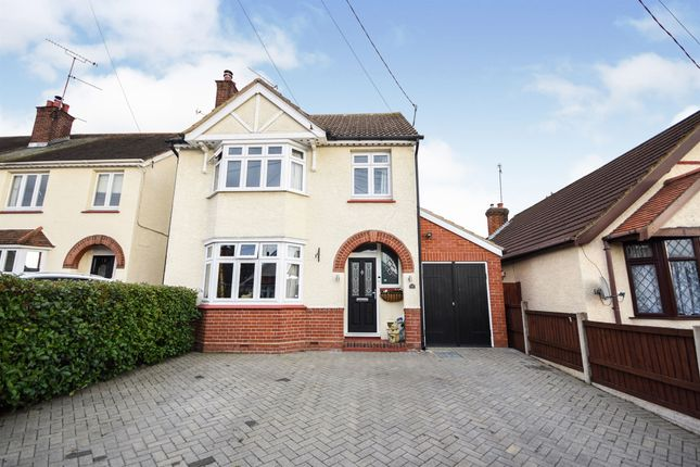 Thumbnail Detached house for sale in Seventh Avenue, Broomfield, Chelmsford