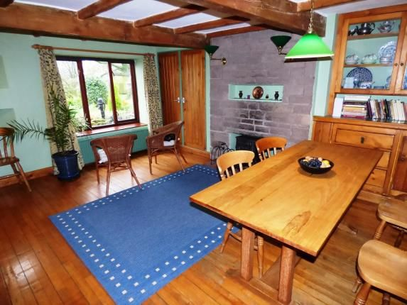 Dining Room of Clayholes Road, Kettleshulme, High Peak, Cheshire SK23