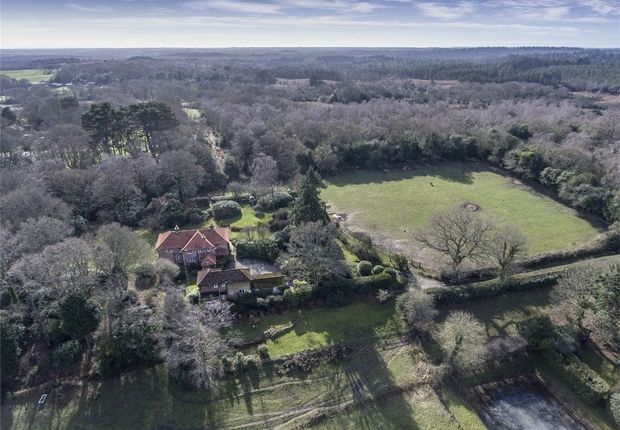 Thumbnail Detached house for sale in Minstead, Lyndhurst, Hampshire