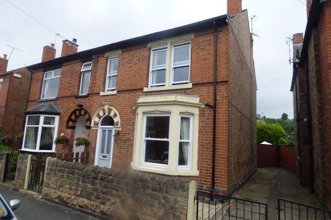Thumbnail Semi-detached house to rent in Charlton Avenue, Long Eaton, Nottingham