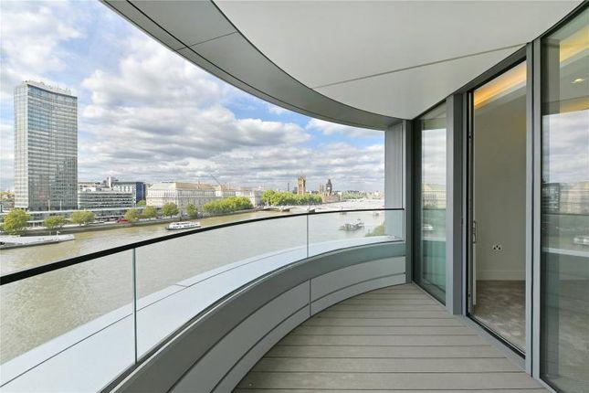 Thumbnail Flat to rent in Albert Embankment, London
