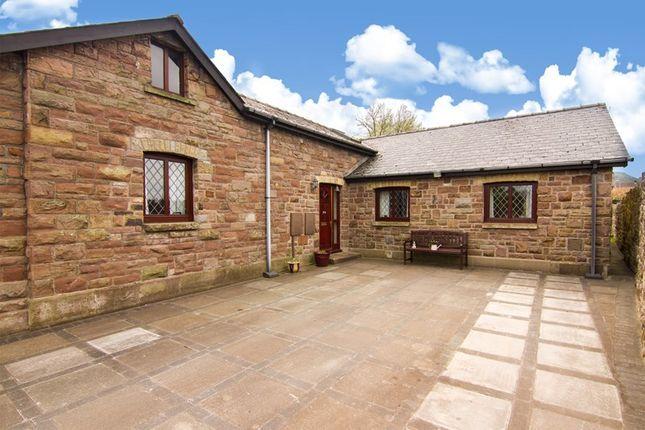 Thumbnail Detached bungalow for sale in Station Road, Govilon, Abergavenny