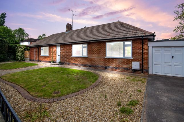 Thumbnail Detached bungalow for sale in Wellesley Avenue, Sunnyhill, Derby