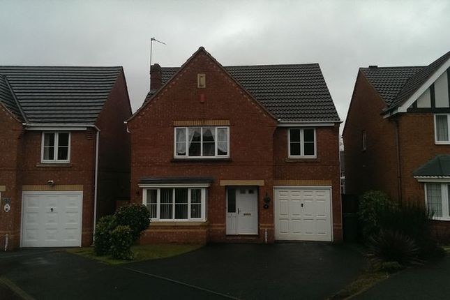 Thumbnail Detached house to rent in The Limes, Walsall