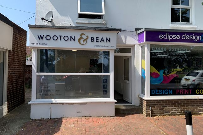 Thumbnail Retail premises for sale in 163 London Road, Burgess Hill