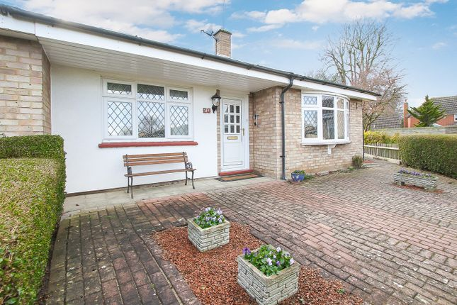 Thumbnail Semi-detached bungalow for sale in Clear Crescent, Melbourn